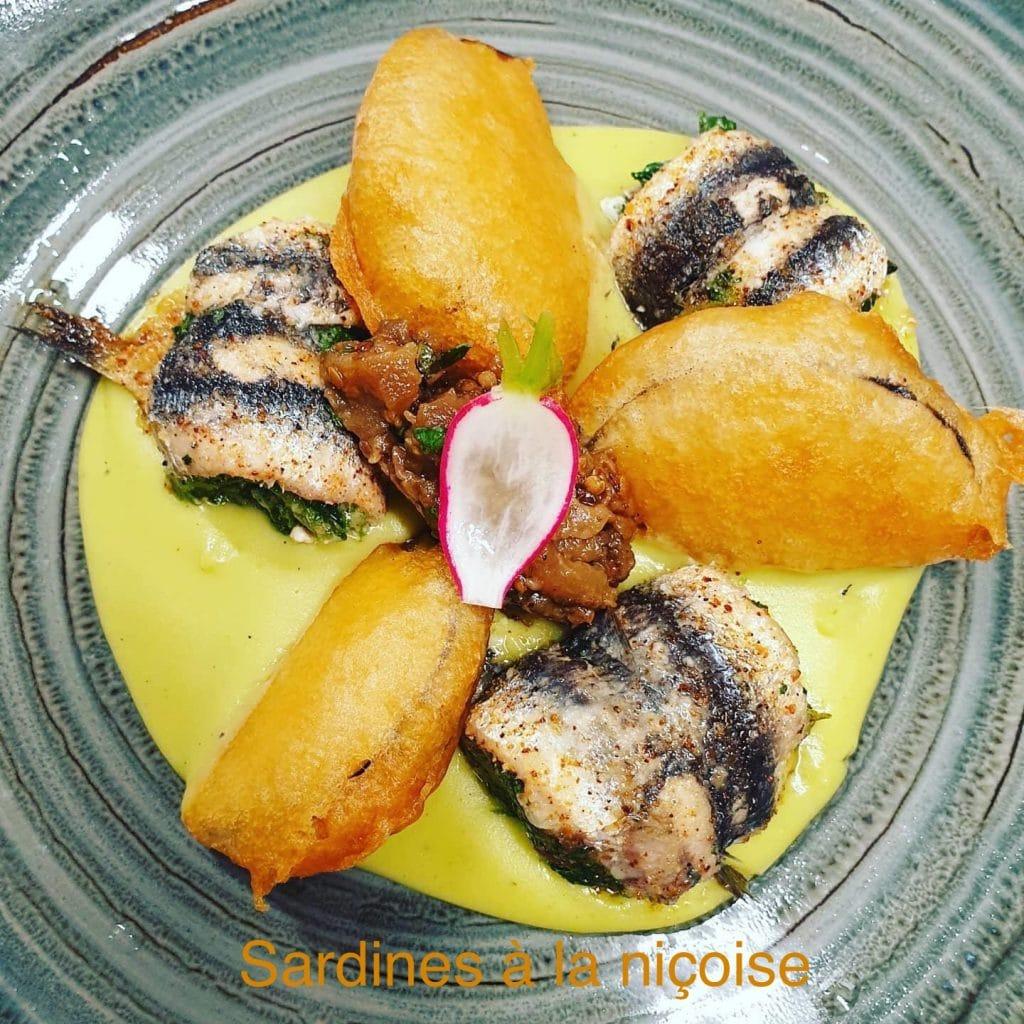 Sardines à la niçoise